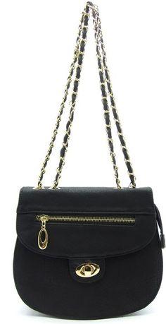Handbagmadness - ALYSSA MESSENGER BAG BLACK, $19.99…