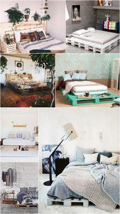 Yatak Odanıza +40 Ahşap Palet Yatak Fikirleri