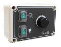 4.5 A Analog speed regulator for single-phase induction motors FE229 (www.fasarelettronica.com)