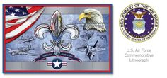 United State Air Force Commemorative Lithograph #usaf  Check Facebook and www.huntstudio.com for special promotions