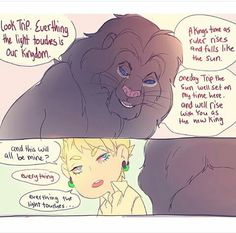 Trip DMMd (and Welter) in a Lion King crossover