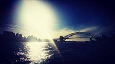 Sitting at work bored missing the beautiful sights of Sydney #Sydney #SydneyOperaHouse #sydneyharbourbridge #doyouwannabuildasnowman? #everythingisawesome #roadtrip by brealarge http://ift.tt/1NRMbNv