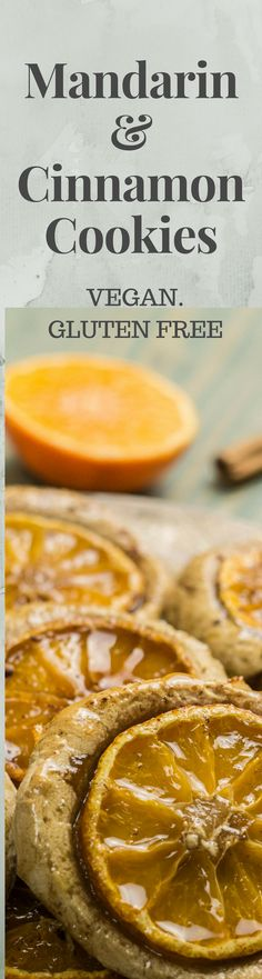 Mandarin & Cinnamon Cookies