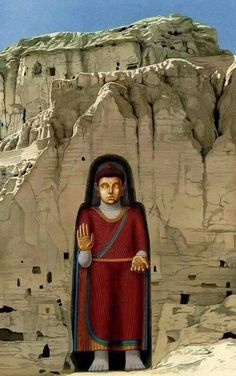 Ancient Metaphysics at work in the center of Afghanistan Another example of ancient metaphysics is the carved Buddha. Ancient Art, Ancient Egypt, Ancient Mexican Civilizations, Greek Culture, Reading Art, Buddhist Art, Indian Gods, Ancient Architecture, Central Asia