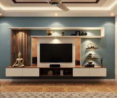 Best Interior, Interior Styling, Interior Decorating, Interior Design, Floating Tv Unit, Floating Shelves, Wall Units, Tv Units, Tv Cabinet Design