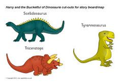 Harry and the Bucketful of Dinosaurs story cut-outs (SB8598) - SparkleBox