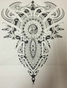 Everything Gets A Return Polynesian & Celtic Full Back Tattoo Yin Yang