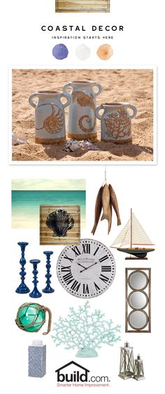 Make your home a vacation destination with island-inspired coastal decor from Build.com. Find hundreds of coastal-styled products which will bring some fresh life into your home.