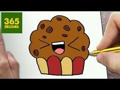 Dessiner un cupcake kawaii