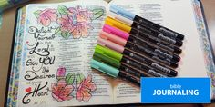 Bible journaling templates.  Very cool!