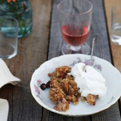 For this dessert, chef Lee Woolver of The American Hotel in Sharon Springs, New York, recommends a tart apple, like the Northern Spy variety that grow...