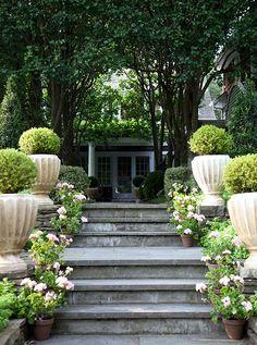 Exquisite garden wit