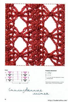 Delicadezas en crochet Gabriela: Libro de puntos fantasía
