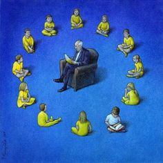 30 Illustrations By Pawel Kuczynski Showing What's Wrong With Modern Society The Polish artist Pawel Kuczynski is an absolute master, combining satire Satire, Canvas Artwork, Canvas Prints, Pictures With Deep Meaning, Sketch Manga, Satirical Illustrations, Meaningful Pictures, Caricature Artist, Deep Art