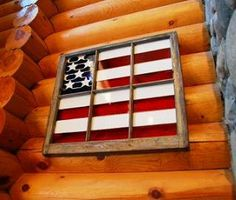 Craft Ideas Using Old Windows - Bing Images pane ideas flag July Crafts, Diy And Crafts, Arts And Crafts, Craft Projects, Projects To Try, Craft Ideas, Old Window Screens, Window Panes, Old Window Crafts