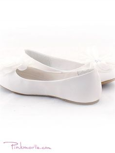 92 best girls shoes images on pinterest dress girl flower girl white flower flat girl shoes mightylinksfo
