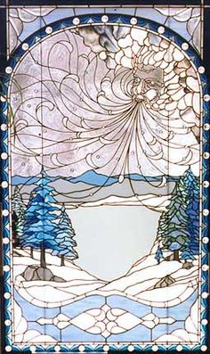 Winter Wind by Chippaway Art Glass