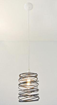 Spiral Nest Pendant Copper by Zac Ridgely #productdesign #lightingdesign