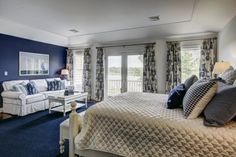 Town & Country Real Estate - Eastport | #bedroom #hamptons #interior #HomeDecor