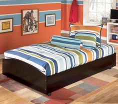 Embrace Twin Loft Caster Bed by Signature Design by Ashley Furniture