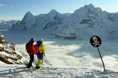 Winter is coming! (photo is Hugo Harrisson and Sascha Schmid in Lauterbrunnen, Switzerland taken by Peter Mathis)
