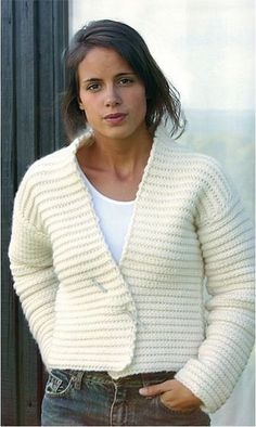 wear it with a hook :o))  Contemporary Crochet - ok how about a pattern, anyone find one, really like this