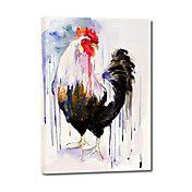 Handgeschilderde olieverfschilderijen Animal ... – EUR € 65.99