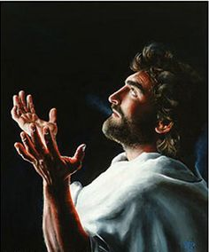 """""""Father Forgive Them,"""" a painting by Akiane Kramarik, a little girl, age 12, who has visions and visits to heaven."""