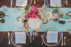 Mint & Gold #cedarwoodweddings
