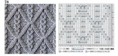 View album on Yandex. Cable Knitting Patterns, Knitting Stiches, Knit Stitches, Stitch Patterns, Knit Crochet, Diy And Crafts, Wall, Places, Menudo Recipe