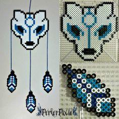 Wolf Dream Catcher by PerlerPixie.deviantart.com on @DeviantArt