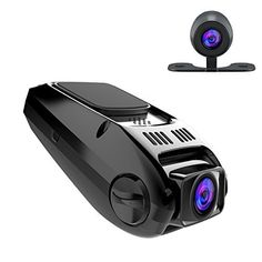 【Powerful Functions】: APEMAN dash cam is a small dash cam but has varies of functions: Full HD Videos, Superior Night Vision, Super Wide 170 degree angle, G-sensor, 6G Lens, Motion Detection, Auto-locking during a vehicle collision, Date Stamp, Plate Stamp, WDR (Wide Dynamic Range) and GPS Positioning System for location monitoring. 【Stable System & Full HD Dual Cam】: APEMAN dash cam adopts advanced technology, provides stable system, has super fast transmission