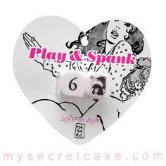 Play and Spank sono dadi per il gioco dello spanking firmati dal maestro Manara di Love to Love