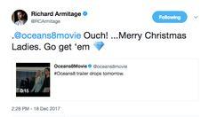 Richard Armitage joins the anticipation | Me + Richard Armitage