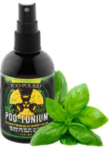 Poo-Tonium I love Poopourii!! It's awesome! And actually works! Everyone Poo's, we just don't need to smell it anymore!