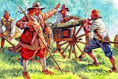 Royalist artillery, English Civil War