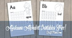 Free Printables and craft ideas for toddlers and Grade R. Alphabet worksheets in English and Afrikaans as well as Free Printable birthday invitation templates. Free Alphabet Printables, Afrikaans, Job Info, English Alphabet, Alphabet For Kids, Alphabet Worksheets, Letter B, Blog Entry, Continue Reading