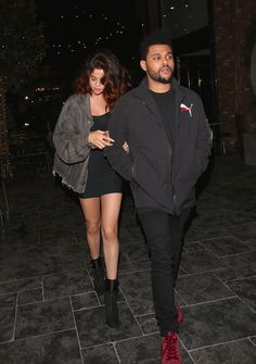 April 6: Selena arriving at Beauty & Essex with The Weeknd in Hollywood, California [HQs]