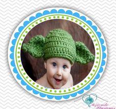 #yoda #StarWars #Hat #Crochet #baby #FansStarWars