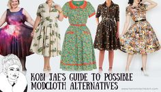 A list of independent plus size clothing designers and boutiques that are similar to/could be viable alternatives to shopping at Modcloth!