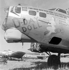 B-17, D-Day Doll