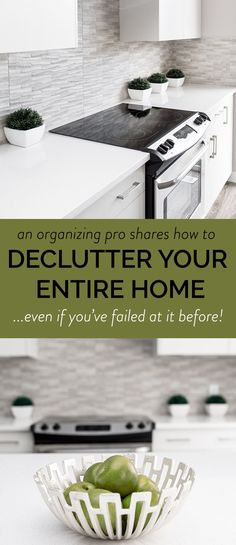Actually useful tips for decluttering your home #organizing #declutter #konmari
