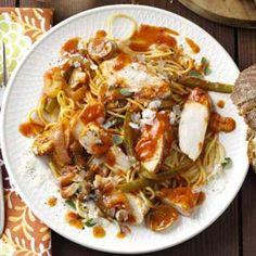 Quick Chicken Cacciatore Recipe from Taste of Home