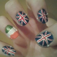 My nails! Not my best work but here are my one direction nails! ashlyn4fashion
