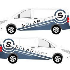 Partial Van Wrap design for Solar Art by warsvictim