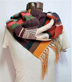 Handwoven Scarf by pidge pidge