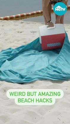 Amazing Life Hacks, Simple Life Hacks, Useful Life Hacks, Cool Stuff, Beach Fun, Beach Trip, Packing Tips For Vacation, Vacation Travel, Solo Travel