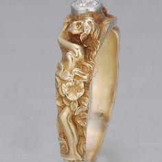 Antique Art Nouveau Ring