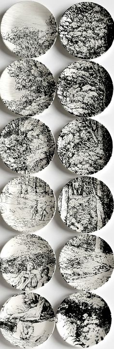 Molly Hatch . Plate paintings