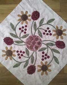 Hi all -- today I'm thrilled to share Part I of Teardrops of Love - a needle turn applique tutorial. I've had manycomments and questions ...